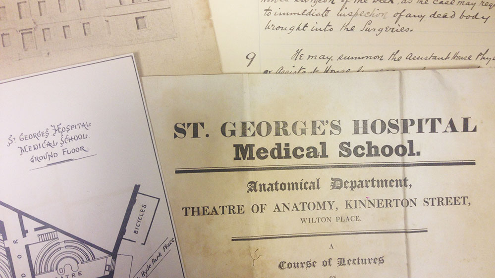 St George's Archives & Special Collections