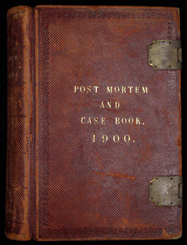 Post Mortem and Case Book 1900