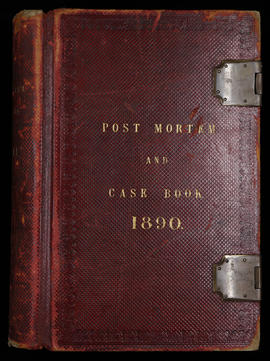 Post Mortem and Case Book 1890