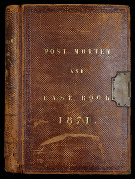 Post Mortem and Case Book 1871